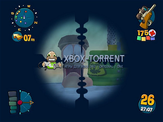 Скачать торрент Worms 4 - Mayhem [RUS/PAL] на xbox original без регистрации
