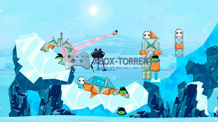 Скачать торрент Angry Birds: Star Wars [REGION FREE/ENG] (LT+1.9 и выше) на xbox 360 без регистрации
