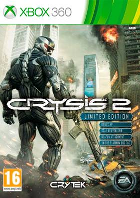 Скачать торрент Crysis 2: Limited Edition [PAL/RUSSOUND] на xbox 360 без регистрации