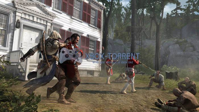 Скачать торрент Assassin's Creed 3 [PAL/RUSSOUND] (LT+3.0) на xbox 360 без регистрации