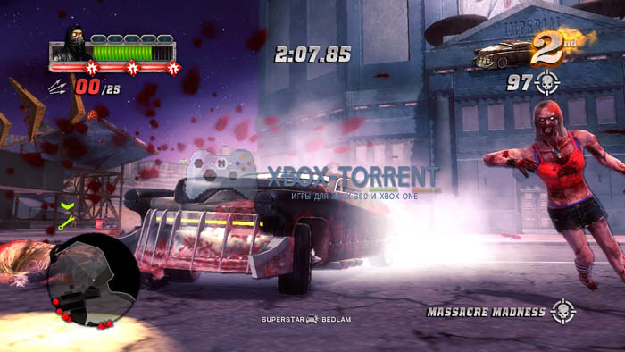 Скачать торрент Blood Drive [REGION FREE/GOD/ENG] на xbox 360 без регистрации