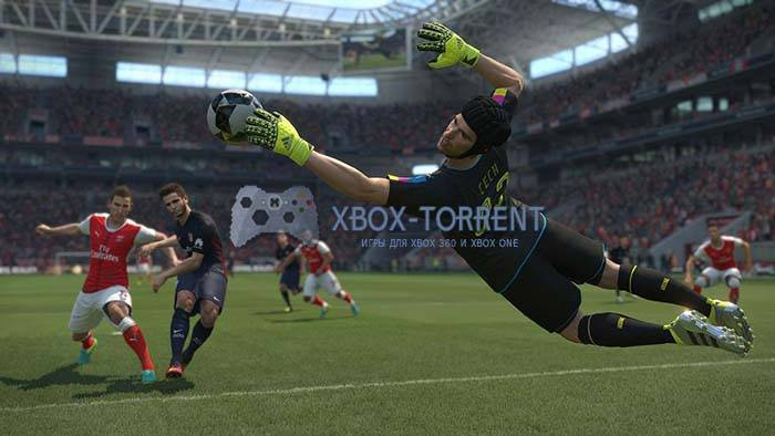 Скачать торрент Pro Evolution Soccer / PES 2017 [GOD/MULTI7/RUS] на xbox 360 без регистрации