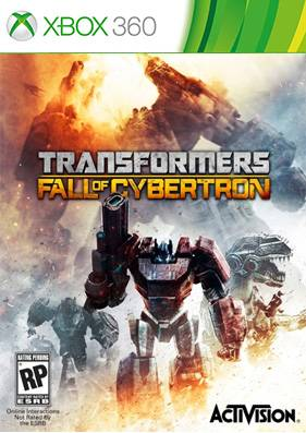 Transformers: Fall of Cybertron [REGION FREE/RUS] (LT+3.0)
