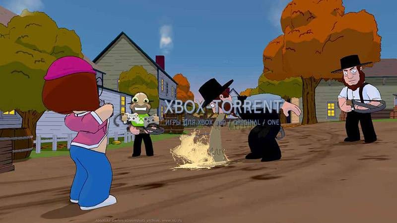 Скачать торрент Family Guy: Back to the Multiverse [GOD/FREEBOOT/ENG] на xbox 360 без регистрации