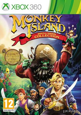 Monkey Island Special Edition [GOD/FREEBOOT/RUS]