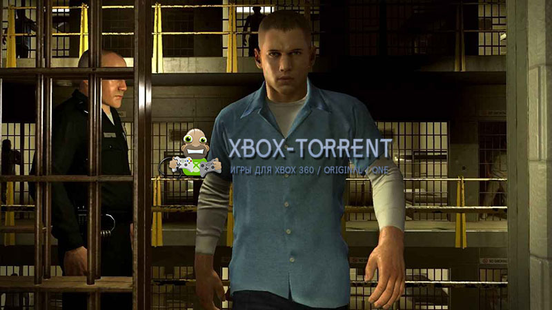 Скачать торрент Prison Break: The Conspiracy [REGION FREE/RUS] на xbox 360 без регистрации