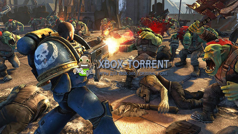 Скачать торрент Warhammer 40,000: Space Marine [DLC/FREEBOOT/RUSSOUND] на xbox 360 без регистрации