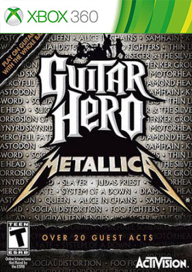 Guitar Hero: Metallica [REGION FREE/ENG]