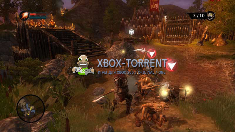 Скачать торрент Overlord: Raising Hell [REGION FREE/RUSSOUND] на xbox 360 без регистрации