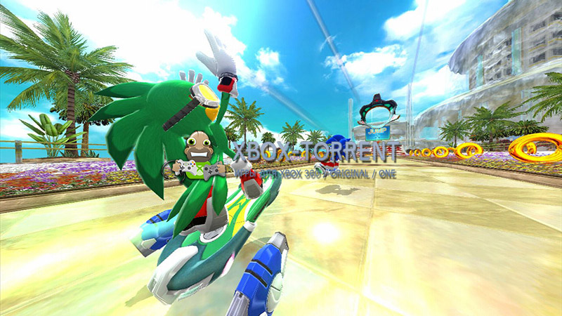 Скачать торрент Sonic Free Riders [FREEBOOT/ENG] на xbox 360 без регистрации