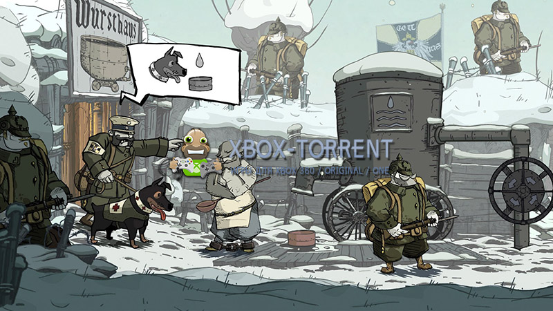 Скачать торрент Valiant Hearts: The Great War [FREEBOOT/RUSSOUND] на xbox 360 без регистрации