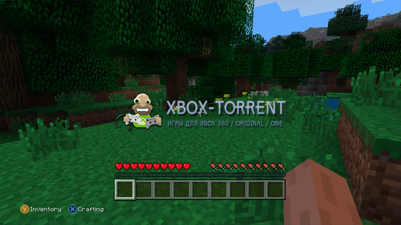 Скачать торрент Minecraft: Xbox 360 Edition [DLC/FREEBOOT/ENG] на xbox 360 без регистрации