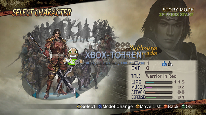 Скачать торрент Samurai Warriors 2 [DLC/FREEBOOT/ENG] на xbox 360 без регистрации