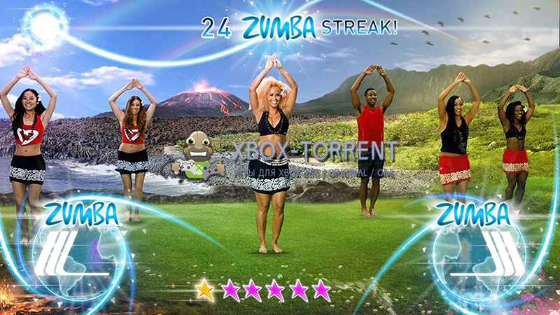 Скачать торрент Zumba Fitness: World Party [ISO/PAL/ENG] (LT+3.0) на xbox 360 без регистрации