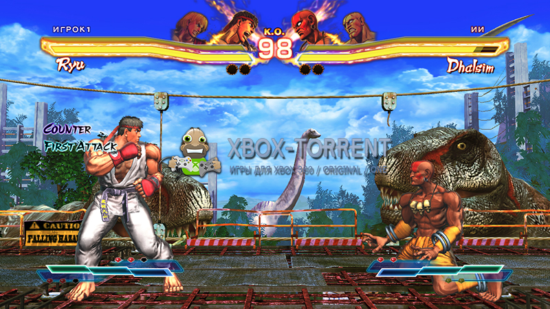 Скачать торрент Street Fighter X Tekken [DLC/FREEBOOT/RUS] на xbox 360 без регистрации