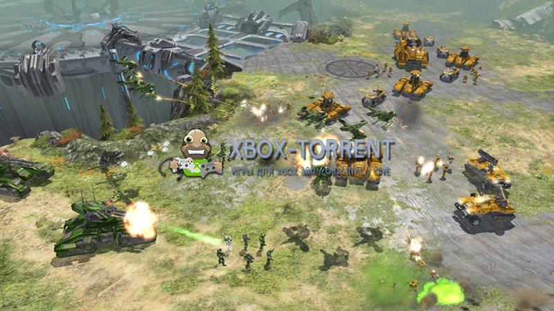 Скачать торрент Halo Wars [REGION FREE/RUSSOUND] на xbox 360 без регистрации