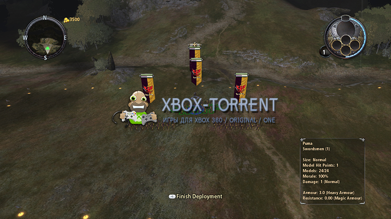 Скачать торрент Warhammer Battle March [REGION FREE/RUS] на xbox 360 без регистрации