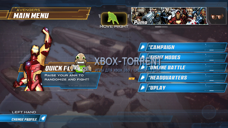 Скачать торрент Marvel Avengers Battle for Earth [DLC/FREEBOOT/ENG] на xbox 360 без регистрации