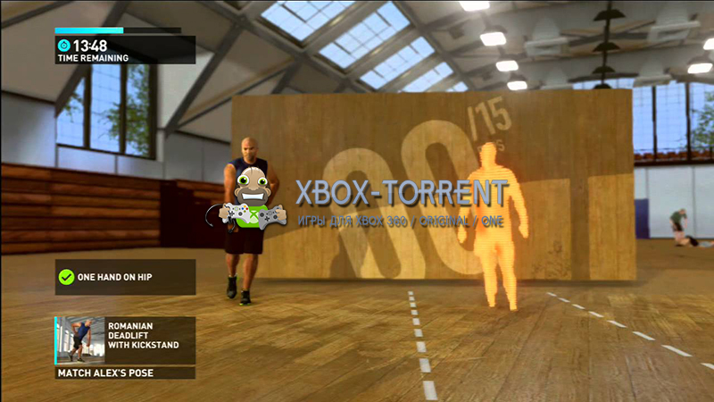 Скачать торрент Nike+ Kinect Training [PAL/ENG] (LT+2.0) на xbox 360 без регистрации