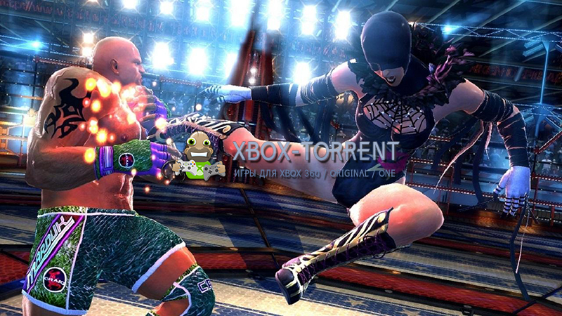 Скачать торрент Tekken Tag Tournament 2 [DLC/FREEBOOT/RUS] на xbox 360 без регистрации