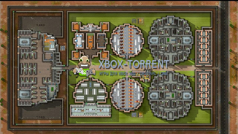 Скачать торрент Prison Architect [XBLAFREEBOOT/RUS] на xbox 360 без регистрации