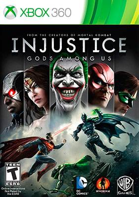 Injustice: Gods Among Us + DLC [GOD/RUS]