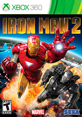 Iron Man 2 The Video Game [GOD/RUS]