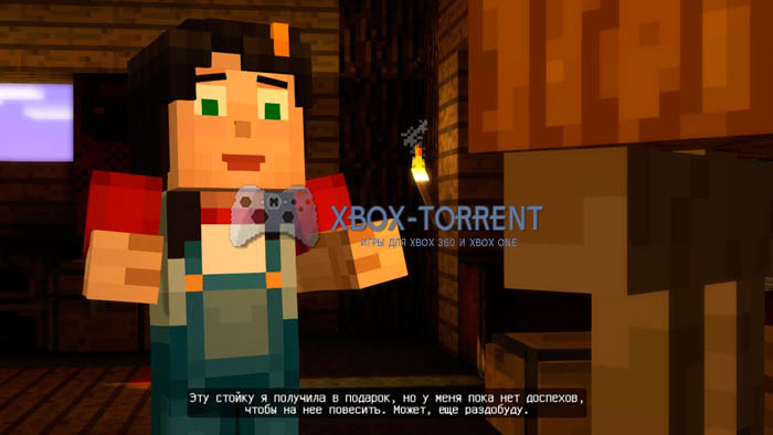 Скачать торрент Minecraft: Story Mode [EP1] [PAL/RUS] (LT+1.9 и выше) на xbox 360 без регистрации