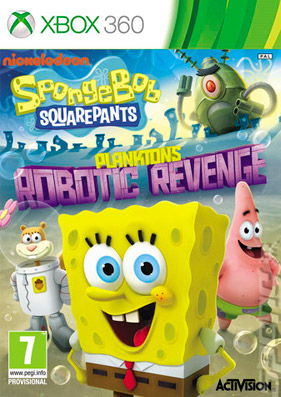 SpongeBob SquarePants: Plankton's Robotic Revenge [PAL/GOD/RUSSOUND]