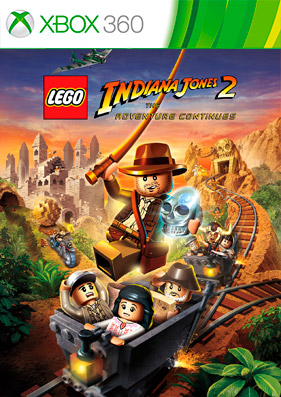 LEGO Indiana Jones 2: The Adventure Continues [REGION FREE/RUS]