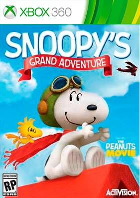 The Peanuts Movie: Snoopy's Grand Adventure [REGION FREE/GOD/ENG]