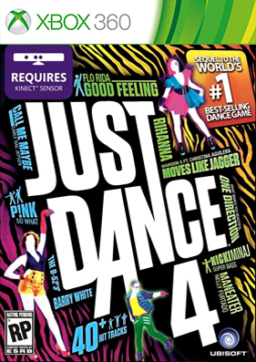 Just dance 4 [REGION FREE/ENG] (LT+ 3.0)