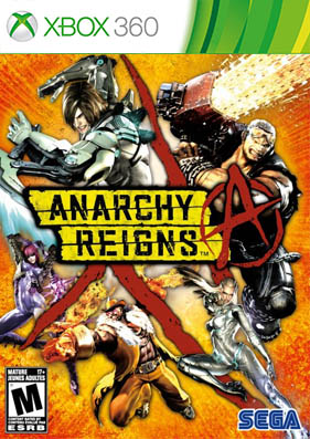 Anarchy Reigns [REGION FREE/ENG] (LT+3.0)