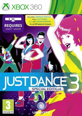 Just dance 3 [REGION FREE/ENG] (LT+ 3.0)