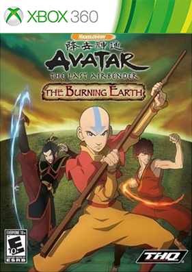 Avatar: The Last Airbender - The Burning Earth [REGION FREE/ENG]