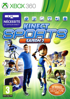 Kinect Sports: Season Two [REGION FREE/RUSSOUND] (LT+1.9 и выше)