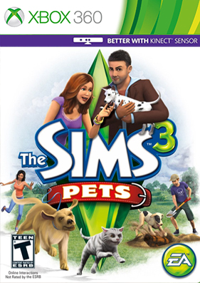 The Sims 3: Pets [ISO/REGION FREE/ENG] (LT+1.9 и выше)